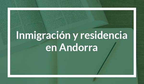 Imigração e residência em Andorra